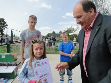 Galeria Dzień Dziecka pod patronatem Burmistrza Byczyny