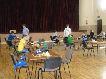 Galeria Turniej szachowy październik 2014